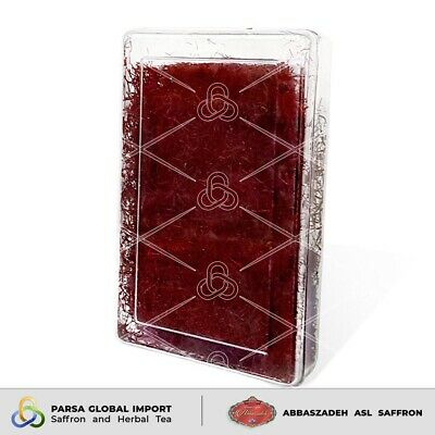50 grams Pure Premium Quality Saffron Threads Highest Grade All Red Negin A+
