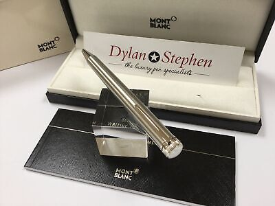 Montblanc Heritage collection 1912 stainless steel capless rollerball pen NEW