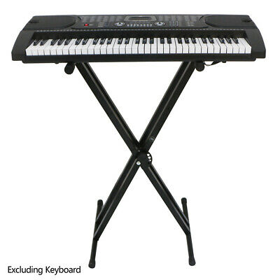 Electronic Piano X Stand Music Keyboard Standard Portable Rack Adjustables Iron