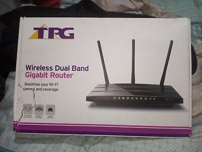 TP-Link Archer C1200 AC1200 Dual Band WiFi Wireless Gigabit Router 1200 Mbps NEW