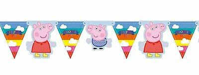 Peppa Pig Room Banner George Kids Character Birthday Party Bunting Girls Boys