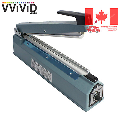 VViViD REV 12 Inch Impulse Heating Bag Sealer Machine