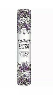 Poo-Pourri Before-You-Go Toilet Spray Travel Size 10ml Lavender Vanilla