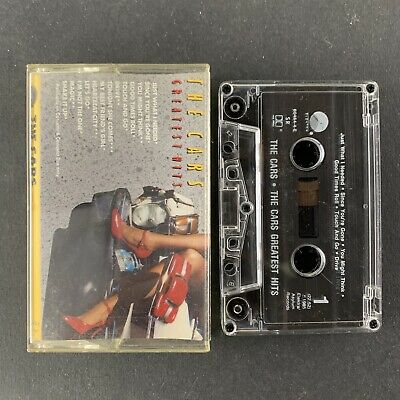 The Cars Greatest Hits Audio Cassette Tape