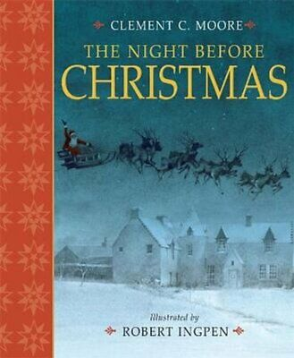 The Night Before Christmas by Clement Clarke Moore 9781783701834 | Brand New