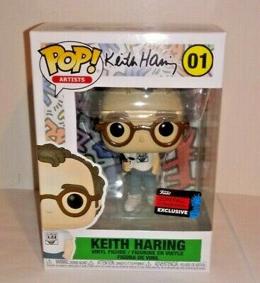 Funko Pop! Artists - Keith Haring 01 (2019 NYCC Convention exclusive) *IN HAND*