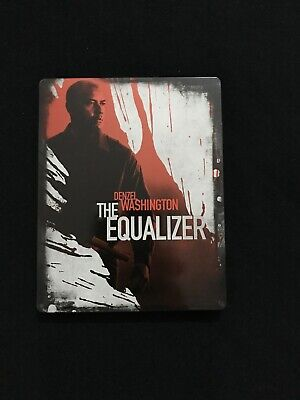 the equalizer blu ray steel book