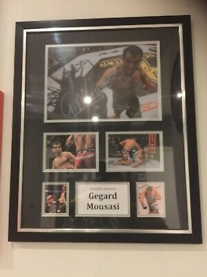 Gegard Mousasi Signed Picture (Big Frame 560mm X 460mm) Ufc With Certificate COA