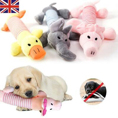 HOT Funny Soft Pet Puppy Chew Play Squeaker Squeaky Plush Sound For Dog Toys