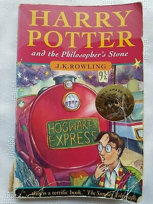 Harry Potter and the Philosopher's Stone by J. K. Rowling (1997, Paperback) 1st