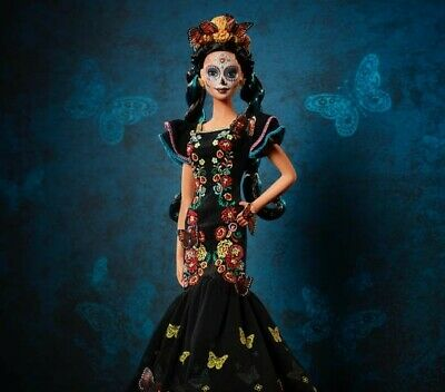 BARBIE Dia De Los Muertos Day of The Dead Mexican Doll PREORDER Ships Early Oct