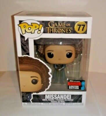 Funko Pop! Game of Thrones Missandei #77 (NYCC 2019 Fall Convention Exclusive)