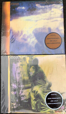 Automatic Writing 1 & 2 CD Lot by Ataxia - John Frusciante Red Hot Chili Peppers