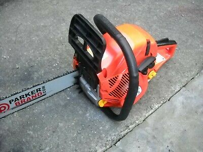Parker brand 58 cc 20..petrol chainsaw x2 chains +more only just 2 months old