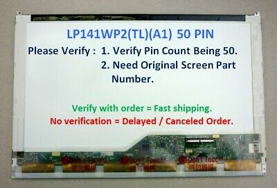 Dell Latitude E6400 Laptop 14.1 LCD Screen Display 0CT008 CT008 LP141Wp2(tl)(a1)