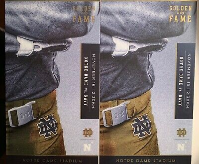 Notre Dame Football Tickets, Fighting Irish vs Navy 11/16/2019 2:30pm South Bend