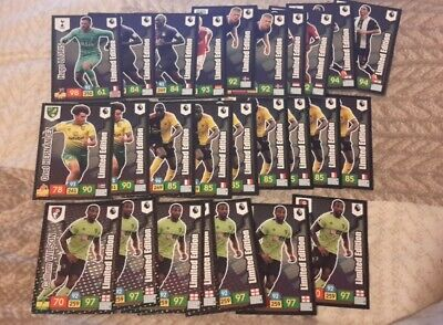 Panini Adrenalyn Premier League 2019 2020 X 26 Limited Edition Cards