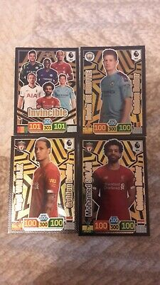 PANINI ADRENALYN PREMIER LEAGUE 2020 GOLDEN BALLER  x 3 DIFFERENT AND INVINCIBLE