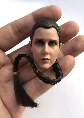"1/6 Scale Star Wars Princess Leia Organa Solo Head Sculpt for 12"" Action Figure"