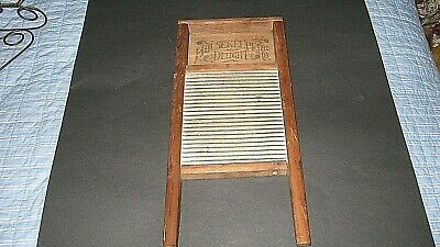 Housekeepers Delight Small Antique Washboard 17x8x1.25 Very Nice
