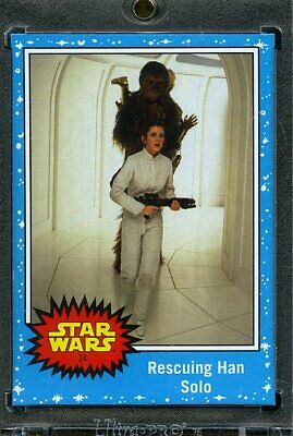 2019 Topps Star Wars Journey to Eps 9 1/1 Blank Back. Rescuing Han Solo