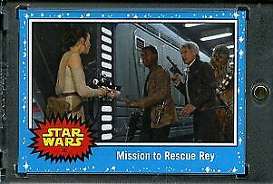 2019 Topps Star Wars Journey to Eps 9 1/1 Blank Back. Mission to Rescue Rey