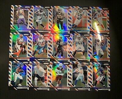 2018 Prizm Red White & Blue (15) Fifteen Card Lot W/ Rookies SP