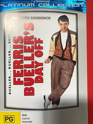 Cc8 Brand New Sealed-Ferris Bueller's Day Off DVD Rare R4