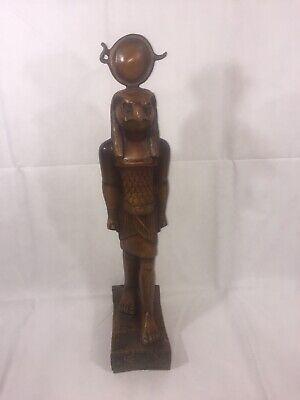 RARE ANCIENT EGYPTIAN ANTIQUES Statue Of God HORUS Falcon Egypt