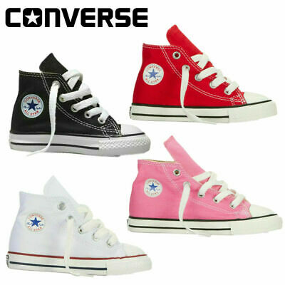 Converse All Star Boy/Girl Kids Canvas Low High Top Sneakers Trainers Shoes