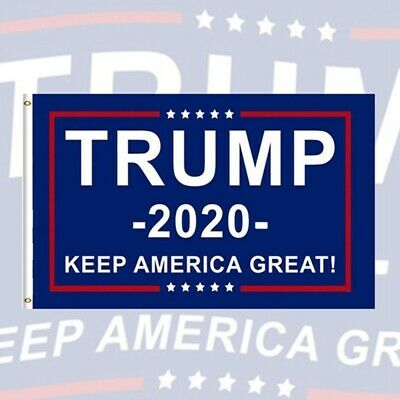 3x5Ft Double Sided Printed Keep America Great 2020 Donald Trump President Flag//