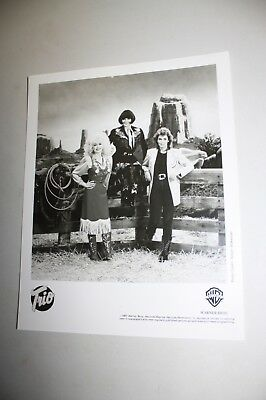 Dolly Parton/Linda Ronstadt/Emmylou Harris Trio Country Music Publicity Still