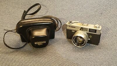 Canon Canonet QL17 Vintage Film Camera with Lens, Case Grade B
