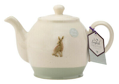 English Tableware Company Edale Hand Crafted Teapot Hare