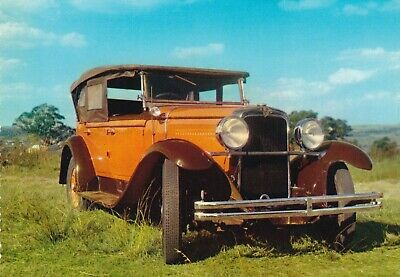 carte postale     automobiles       nash model 461 tourer