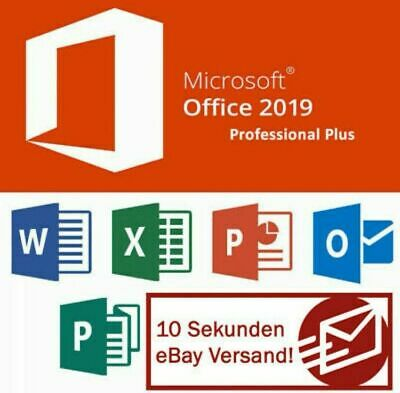Microsoft Office 2019 Professional Plus Key Vollversion, Lizenzschlüssel ✔30SEK✔