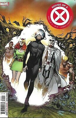 House Of X Comic Issue 1 Cover A First Print 2019 Hickman Pepe Larraz Gracia .
