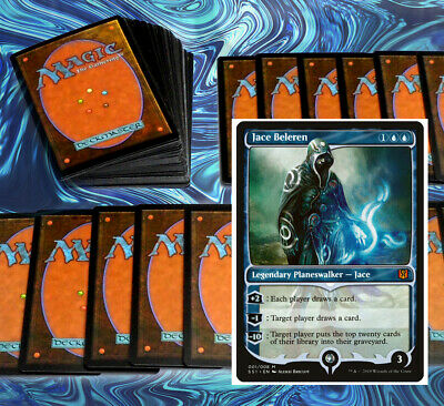 mtg BLUE MILL DECK Magic the Gathering rares 60 cards jace beleren keiga kami