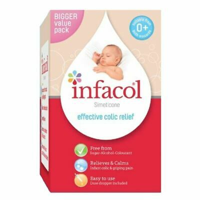 Infacol Baby Anti Colic Relief Drops 55ml from birth FREE UK POST