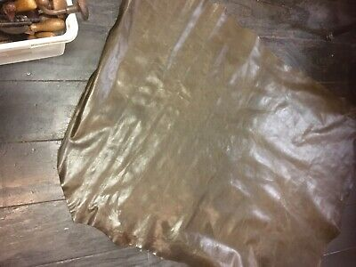leather hide brown
