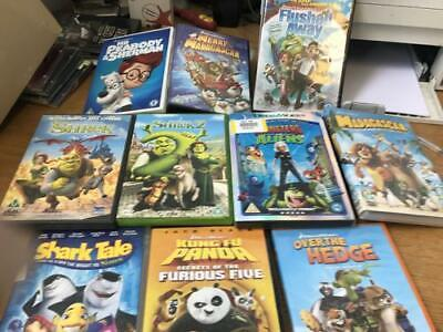 10 Dreamworks DVDs