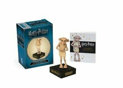 Harry Potter Talking Dobby and Collectible Book by Running Press 9780762463107