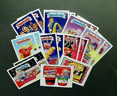 Topps 2017 Not-Scars Complete 18 Sticker Set-16 Gpk's + 2 Wacky Packages In Case