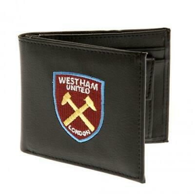 West Ham United F.C. Official Money Wallet with Embroidered Crest SC