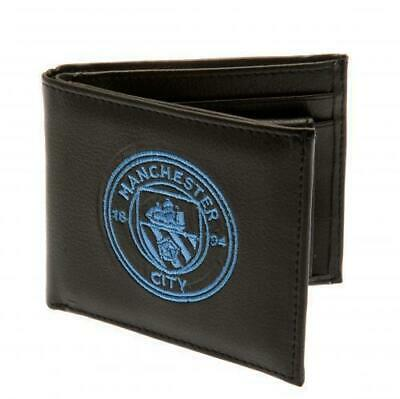 Manchester City F.C. Official Money Wallet with Embroidered Crest SC