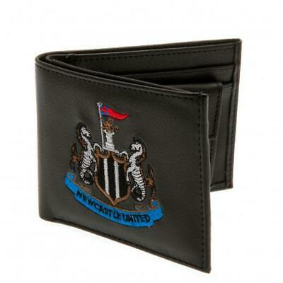 Newcastle United F.C. Official Money Wallet with Embroidered Crest SC