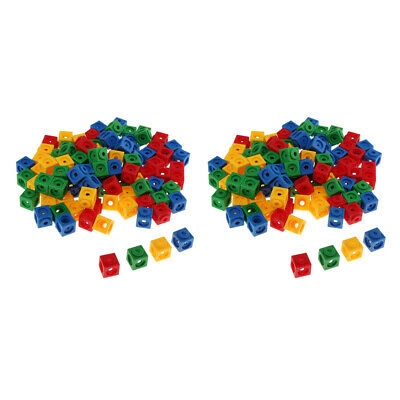 Learning Resources Mathlink Cubes 200pcs Set Early Math Educational Activity