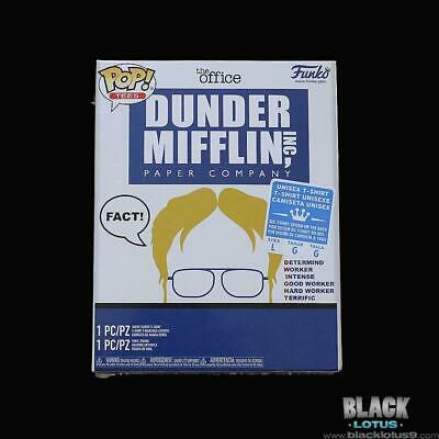 Funko Pop! and Tee Dwight Schrute The Office Large Target Collectors Box Pop 871