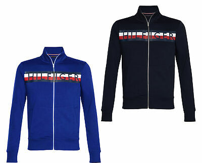 Tommy Hilfiger Herren Sweatshirt Tommy Zip Through W0MW09521