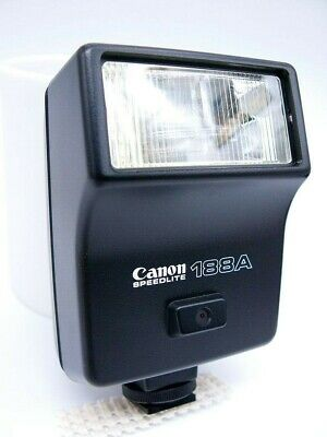 [A627] Canon Speedlite 188A Shoe Mount Flash for  Canon